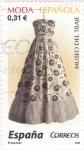 Stamps Spain -  MODA ESPAÑOLA-MUSEO DEL TRAJE  (7)