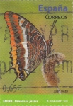 Stamps Spain -  FAUNA-MARIPOSA  (7)