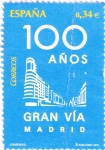 Stamps Spain -  100 DE LA GRAN VÍA DE MADRID (7)
