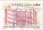 Stamps Spain -  CENTENARIO DEL CUERPO DE ARQUITECTOS DE LA HACIENDA PÚBLICA  (7)