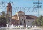 Stamps Spain -  TODOS CON LORCA- Santuario de la Virgen de las Huertas (7)