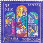Sellos de Europa - España -  NAVIDAD-2000  (7)