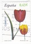 Sellos de Europa - España -  FLORA- Tulipán   (7)