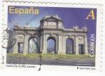 Stamps Spain -  PUERTA DE ALCALA- Madrid  (7)