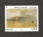 Sellos de Europa - Francia -  La playa de Calais por W. Turner
