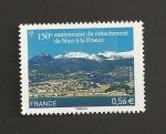 Stamps France -  150 Aniv. unión Niza a Francia