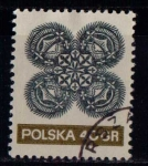 Sellos de Europa - Polonia -  1940  Encaje