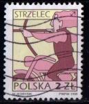 Sellos de Europa - Polonia -  Zodíaco. Sagitario