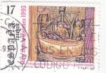 Stamps Spain -  AÑO SANTO JACOBEO- Traslación del cuerpo del Apostol  (7)