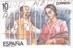 Stamps Spain -  ZARZUELA- LA REINA MORA  (7)