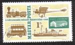 Sellos de Europa - Hungría -  Inauguración del Museo de Transporte - 1966