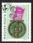 Stamps Hungary -  25 años de La Caja Nacional de Ahorro 1974