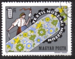 Sellos de Europa - Hungría -  Museo Textil de Tecnología