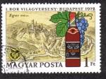 Sellos de Europa - Hungría -  I Concurso Mundial del Vino de Budapest en 1972