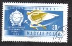 Stamps Hungary -  II Campeonato del Mundo de Motociclismo en Budapest 1972