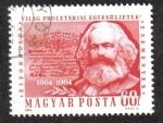 Sellos de Europa - Hungría -  Aniversarios proletaria mundial, se unen Eventos