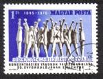 Stamps Hungary -  Liberación de Campo de Concentración,Conmemorando el 25 Aniversario