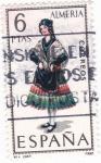 Stamps Spain -  ALMERÍA -Trajes típicos españoles (7)