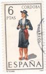 Stamps Spain -  CORDOBA -Trajes típicos españoles (7)