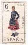 Stamps Spain -  SORIA -Trajes típicos españoles (7)