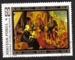 Stamps : Europe : Hungary :  La Adoración de Los Reyes