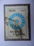 Stamps Argentina -  Escarpela - República de Argentina