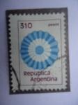 Stamps Argentina -  Escarpela República de Argentina.