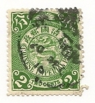 Stamps : Asia : China :  Dragón