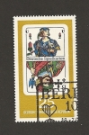 Stamps Germany -  Naipe