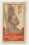 Stamps : Africa : Gabon :  Definitivo