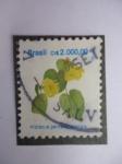 Stamps Brazil -  Hibiscus Pernambucensis