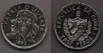 monedas del Mundo : America : Cuba :  Che Guevara - Patria o muerte