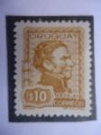 Sellos de America - Uruguay -  General José Gervasio Artigas