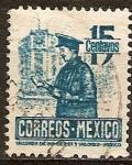 Sellos del Mundo : America : México : Cartero.