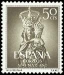 Sellos de Europa - España -  ESPAÑA SEGUNDO CENTENARIO Nº 1136 ** 50C VERDE OLIVA AÑO MARIANO