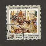 Stamps Germany -  Muestra pintura rusa y soviética