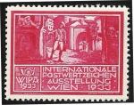 Sellos del Mundo : Asia : Austria : WIPA 1933 / Cartero a pie con sonajero