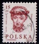 Sellos del Mundo : Europa : Polonia : Cabezas esculpidas del Castillonde Wawel
