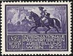 Stamps Austria -  WIPA 1933 / Cartero a caballo