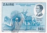 Stamps Democratic Republic of the Congo -  Protección de la fauna y creación de parques nacionales