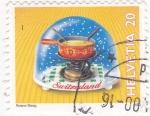 Sellos de Europa - Suiza -  Bola navideña