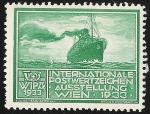 Stamps Austria -  WIPA 1933 / Transatlántico