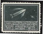 Stamps Austria -  WIPA 1933 / Rocket