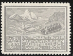 Sellos del Mundo : Europa : Austria : Wipa 1933 / Motor Charabanc