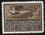 Sellos de Europa - Austria -  WIPA 1933 / Flying Boat