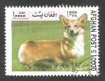 Stamps Afghanistan -  Perro de raza