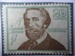 Sellos de America - Uruguay -  Eduardo Acevedo