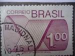 Sellos de America - Brasil -  Correiro Brasil - Rotulo