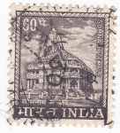 Stamps India -  Templo Somnath