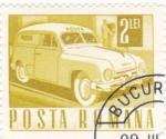 Sellos del Mundo : Europa : Rumania : Vehiculo de correos